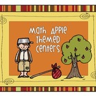 Apple Themed Math Centers