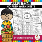 Apple Time Theme Worksheets