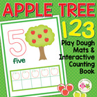 Apple Tree 123:  0-10 Play Dough Counting Mats and Interac