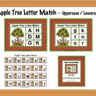 Apple Tree Letter Match