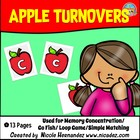 Apple Turnovers: A Letter A Game