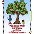 Applelicious Math and Literacy Activities for Primary Learners