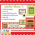 Apples 3 Classroom Themed Set