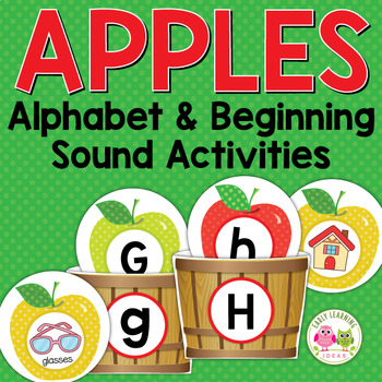 Apples: ABC and Initial Sound Matching for Preshool and Kindergarten