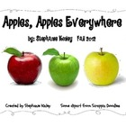 Apples, Apples Everywhere - Writing Activities