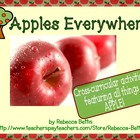 Apples Everywhere!  Cross Curricular Activities