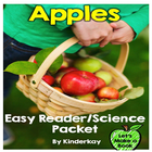 Apples Lets Make a Book Easy Reader Packet