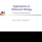 Applications of Molecular Biology