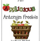 Applicious Antonym Freebie