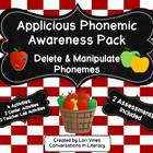 Applicious Phonemic Awareness Pack:  Delete and Manipulate