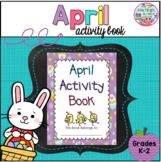 April Activity Book - FREE!