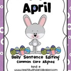 April Daily Sentence Editing