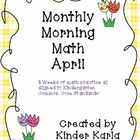 April Morning Math