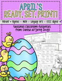 April Printable Pack