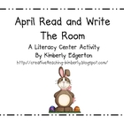 April Read and Write the Room