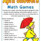 April Showers Math Games