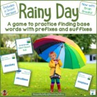 Prefixes and Suffixes April Showers