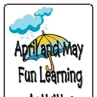 April and May Fun Learning Activities