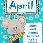 April~Math & Literacy for Primary Grades-Poetry, Idioms, E