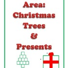 Area Christmas Trees and Presents