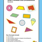 Area, Perimeter And Circumference Workbook