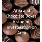 Area and Chocolate Boxes - a student project to apply area