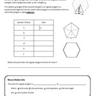 Area of Regular Polygon Student Self Discovery Activity