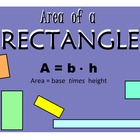 Area of a Rectangle -- Basic Practice PowerPoint!