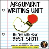 Argument Writing Common Core Grades 6-12