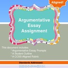 Argumentative Essay Assignment