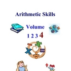 Arithmetic and Math Skills Activities and Worksheets, Volume Four