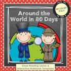 Around the World in 80 Days Close Reading & Interactive No