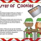 Array of Cookies!! Multiplication Arrays & repeated Addition!!