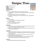 Art Lesson- Abstract Trees
