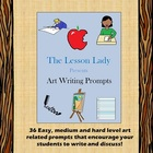 Art Writing Prompts and Discussion Topics