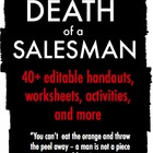 Arthur Miller's Death of a Salesman Handouts, Activities,