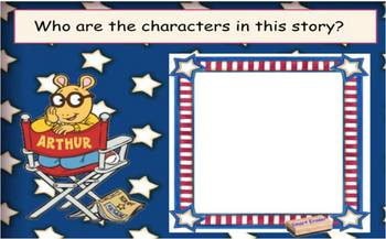 Arthur's Reading Race SmartBoard Comprehension Activity