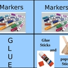 Arts and Crafts and/or Supplies Labels