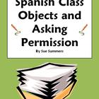 Spanish Class Objects and Asking Permission Puedo ir...