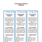 Asking Questions - Reading Comprehension Strategy Bookmark