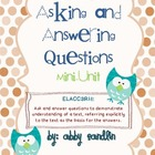 Asking and Answering Questions: Mini-Unit (Aligned with 3r
