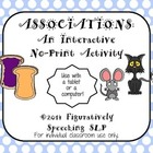 Associations: An Interactive No Print Activity