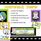 Astronaut Classroom Themed Set