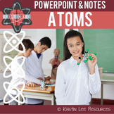 Atomic Structure PPT w/ Student Notes {NGSS Aligned}