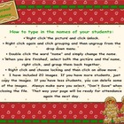 Attendance Christmas-Gingerbread Smartboard