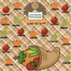 Attendance Thanksgiving Interactive Flipchart for Promethe