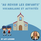 """Au revoir les enfants"" Movie Vocabulary and Activities"