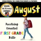 August Homework Packet: 1st Grade (Swinging Safari)