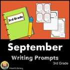 August & September 3rd Grade Common Core Writing Prompts