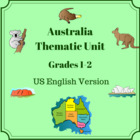 Australia Thematic Unit For Use With Grades K-1-2